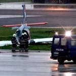 Svensk pilot hjalte i kapardrama